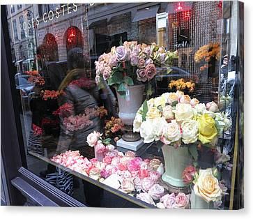 Paris France - Street Scenes - 121237 Canvas Print by DC Photographer