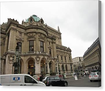 Paris France - Street Scenes - 121252 Canvas Print by DC Photographer