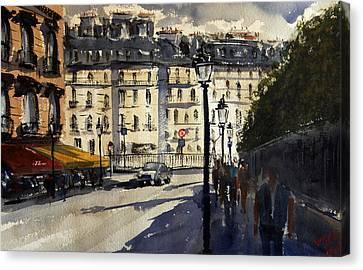 Paris IIi Canvas Print by James Nyika