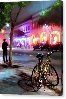 Canvas Print featuring the photograph Paris In Santa Monica by Jennie Breeze