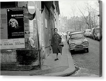 Paris In The 1960s Canvas Print by Glenn McCurdy
