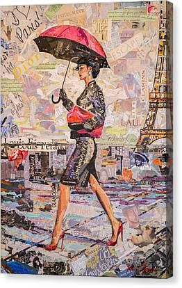 Paris Is Always A Good Idea A Canvas Print by Kevin Thomas