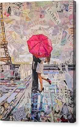 Paris Is Always A Good Idea B Canvas Print by Kevin Thomas