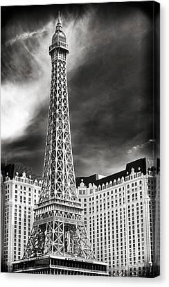 Paris Las Vegas Canvas Print by John Rizzuto