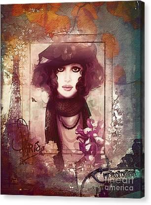Paris Metro Canvas Print by Shanina Conway