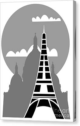 Paris Canvas Print by Michal Boubin