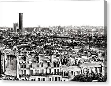 Paris Montparnasse Canvas Print by Olivier Le Queinec