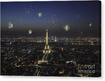 Paris Canvas Print by Patricia Hofmeester