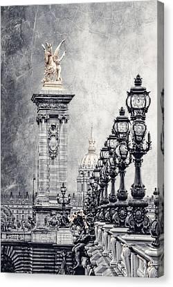 Pegasus Canvas Print - Paris Pompous 2 by Joachim G Pinkawa