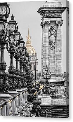Paris Pompous Canvas Print by Joachim G Pinkawa