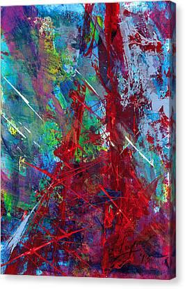 Paris Storm Canvas Print
