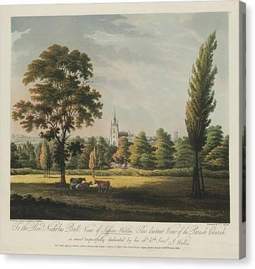 Parish Church Canvas Print by British Library