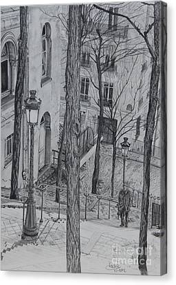 Parisienne Walkways Canvas Print