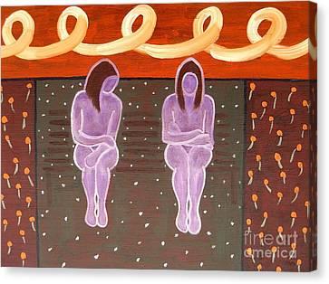 Park Bench Canvas Print by Patrick J Murphy