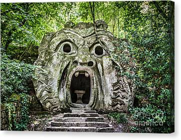 Park Of The Monsters Canvas Print
