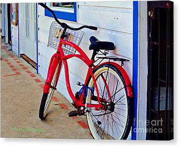 Parked In Panama Canvas Print by Li Newton