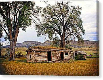 Parker Homestead Canvas Print by Marty Koch