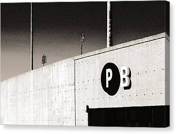 Canvas Print featuring the photograph Parking B by Arkady Kunysz
