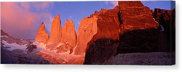 Parque National Torres Del Paine Canvas Print by Panoramic Images
