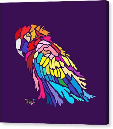 Parrot Beauty Canvas Print