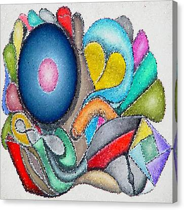 Parrot Series 0 Canvas Print by George Curington