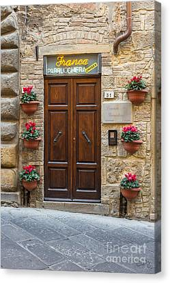 Parrucchiera Canvas Print by Prints of Italy