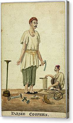 Parsee Coopers Canvas Print
