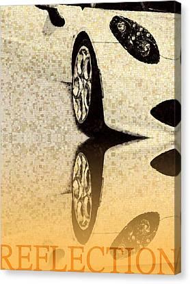 Part Of Car  Canvas Print