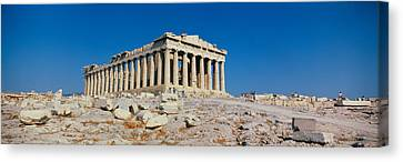 Parthenon Athens Greece Canvas Print by Panoramic Images