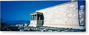 Parthenon Complex Athens Greece Canvas Print by Panoramic Images