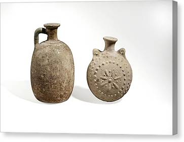 Parthian Ceramics Canvas Print by Science Photo Library
