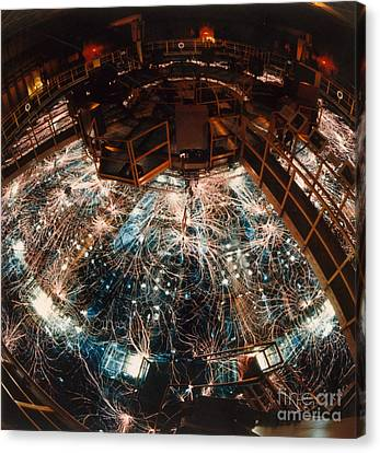 Particle Accelerator Canvas Print by Science Source