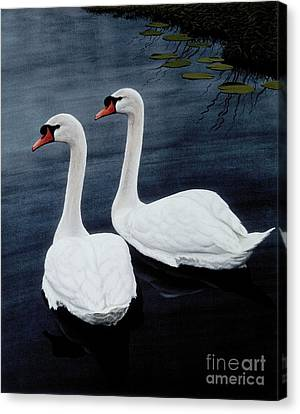 Partners Canvas Print by Michael Swanson