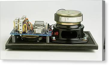 Parts Of A Loudspeaker Canvas Print