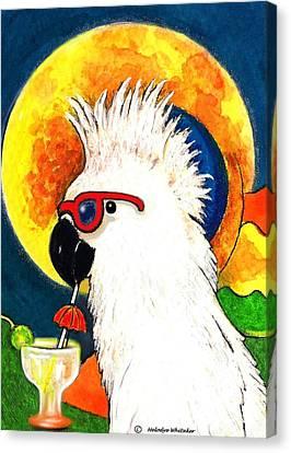 Party Parrot 1 Canvas Print