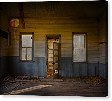Partys Over  Canvas Print