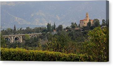 Pasadena Canvas Print by Jan Cipolla
