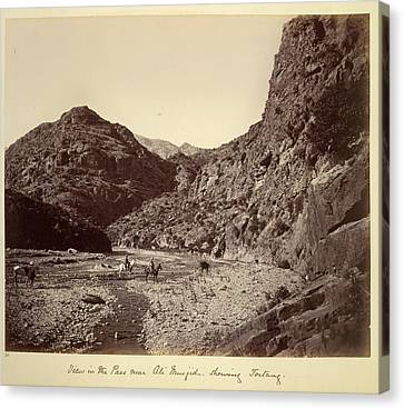 Pass Near Ali Musjid Canvas Print by British Library
