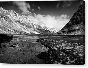 Pass Of Glencoe Canvas Print