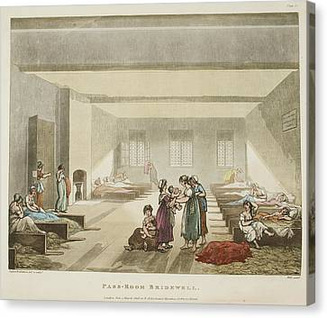 Pass-room Bridewell Canvas Print by British Library