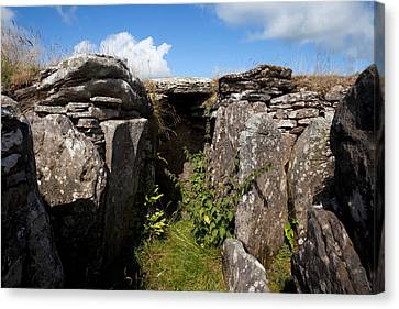 Passage Grave,carbane West, Loughcrew Canvas Print by Panoramic Images