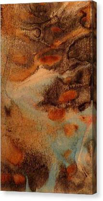 Canvas Print featuring the painting Passage by Mike Breau