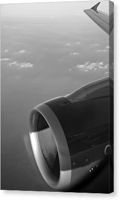 Look Through Any Window Canvas Print - Passenger Liner Through The Keyhole by Kantilal Patel