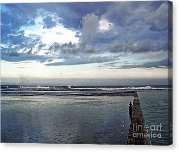 Passing Of The Storm Canvas Print