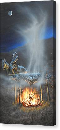 Passing Spirit Canvas Print by Mark Mittlesteadt