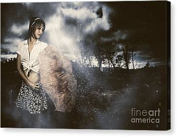 Passing Storm Canvas Print by Jorgo Photography - Wall Art Gallery