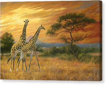 Passing Through Canvas Print by Lucie Bilodeau