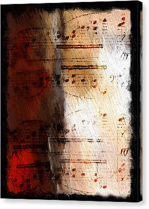Canvas Print featuring the digital art Passion And Light by Lon Chaffin