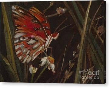 Passion Butterfly - Gulf Fritillary Canvas Print