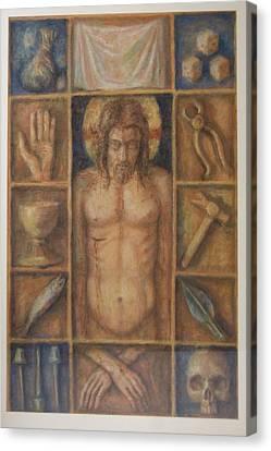 Passion Cabinet Canvas Print by Paez  Antonio